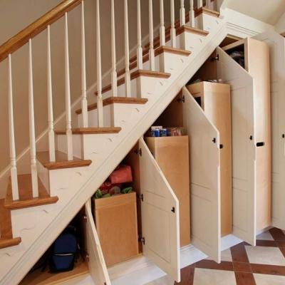 Лестничный шкаф 006